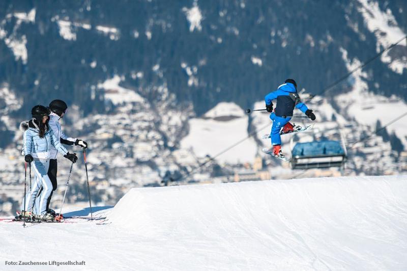 Skifahren im Skigebiet Flachauwinkl-Zauchensee