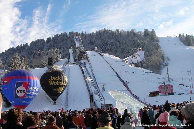 Damen und Herren Weltcup-Rennen in Garmisch-Partenkirchen