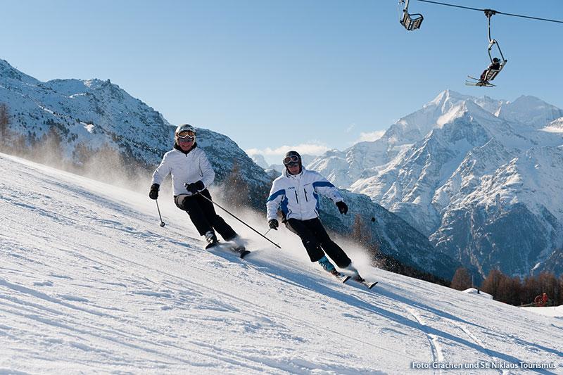 Skiurlaub in Grächen/St.Niklaus