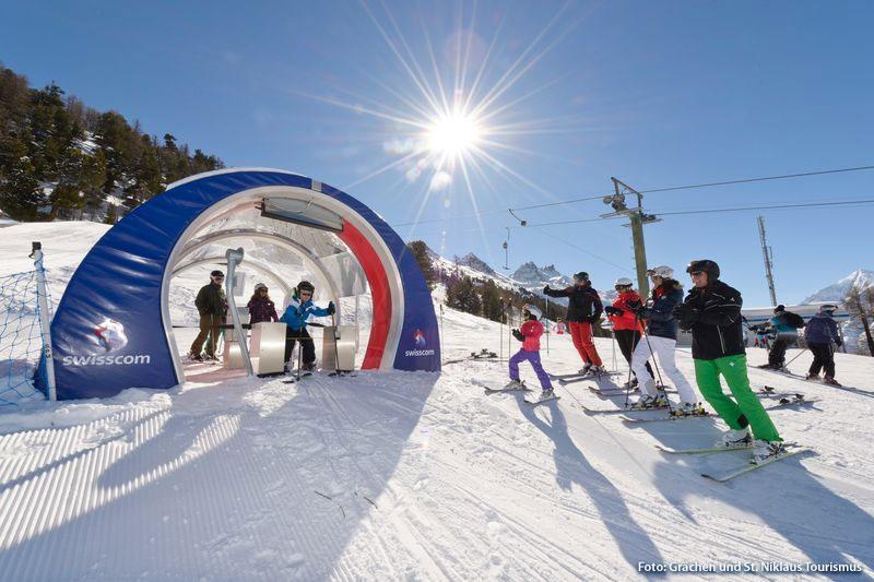 Swisscom Skimovie: auf der Paradieslipiste zum Filmstar werden