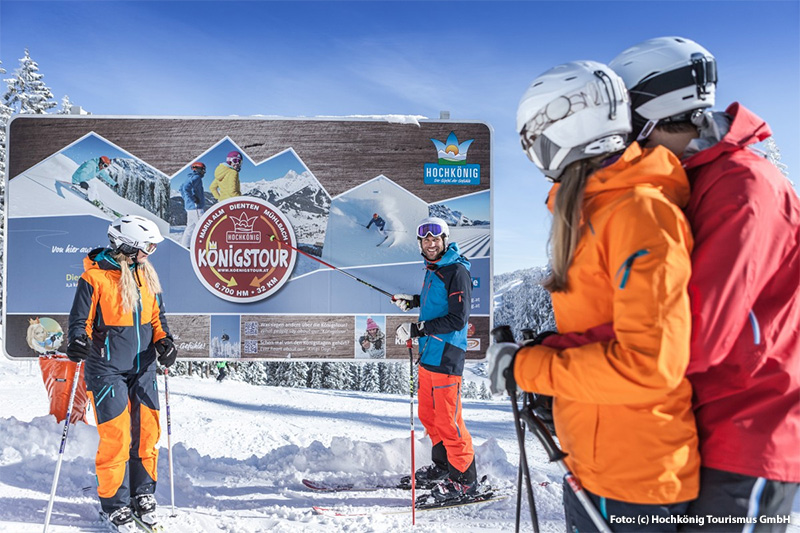 Königstour ski amadé
