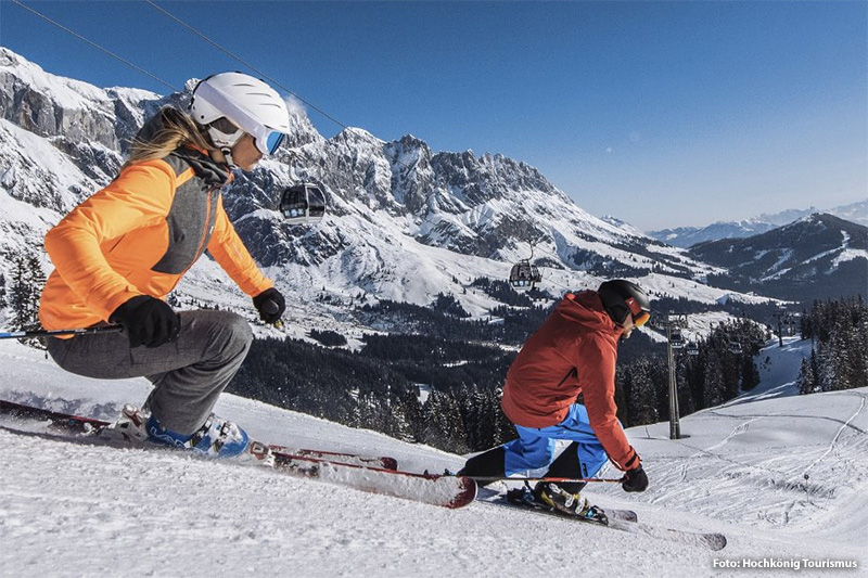 Skigebiet Hochkönig - ski amadé