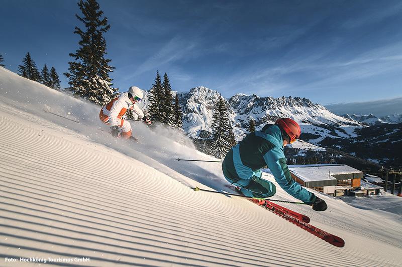 Skifahren im Salzburger Land