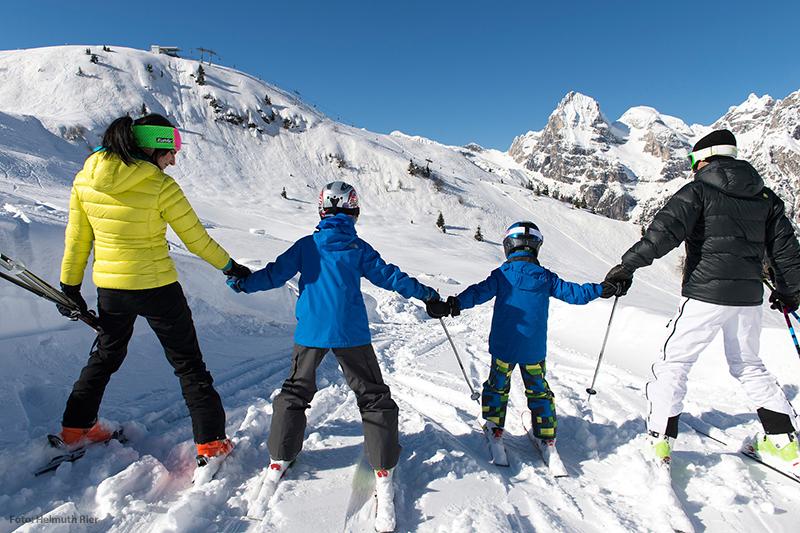 Skifahren im Pflerschtal