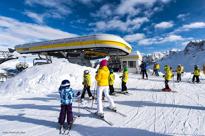Skischule im Skigebiet Ladurns