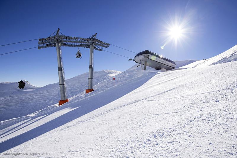 Bergbahn Karjoch - 4er Sessellift