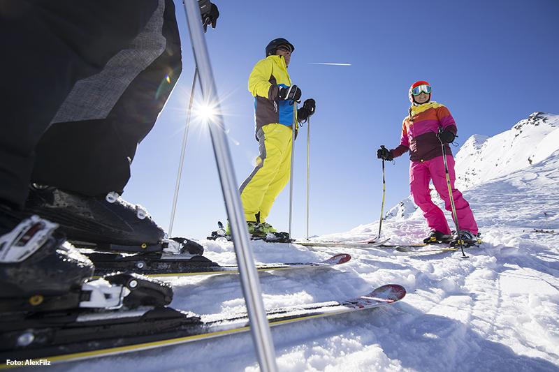 Skifahren im Passeiertal