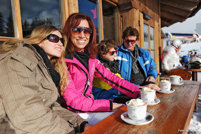 Skiurlaub und Hüttenromantik in der Salzburger Sportwelt