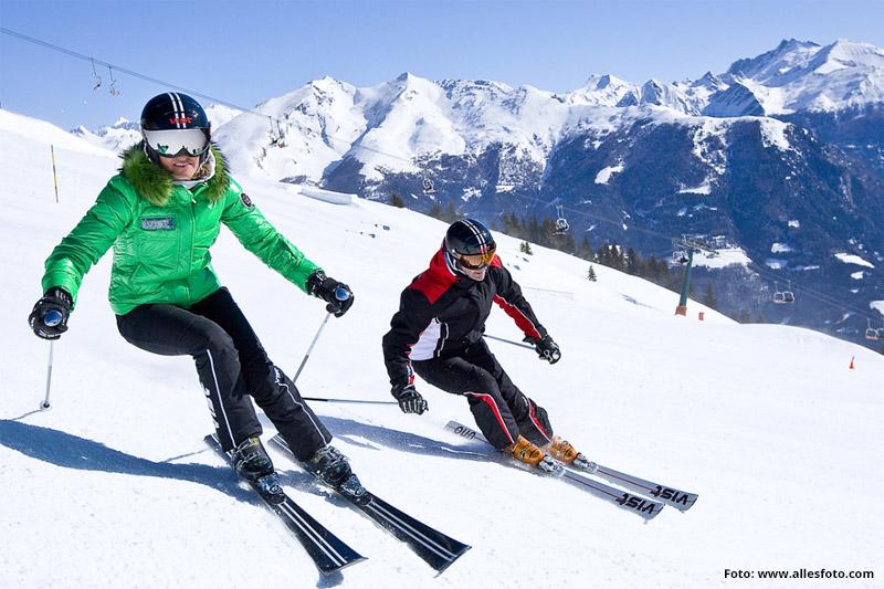 Skifahren im Skigebiet Rosskopf