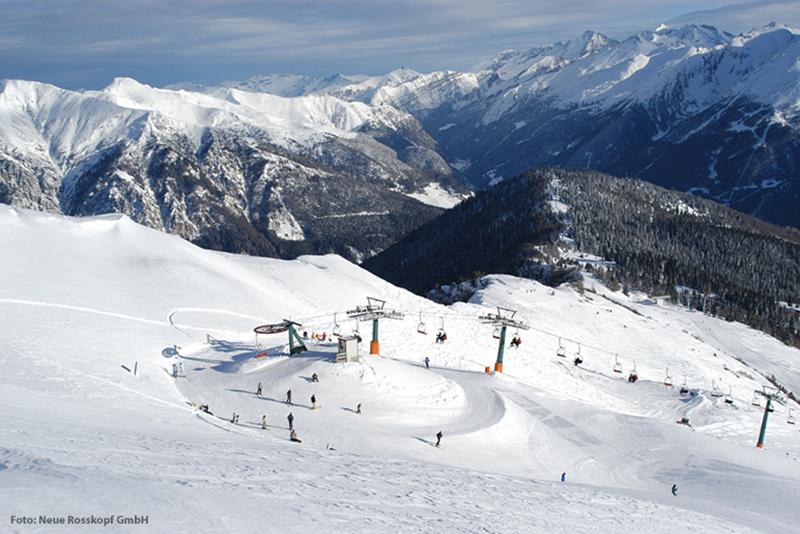 Skigebiet Rosskopf Sterzing - Ortler Skiarena