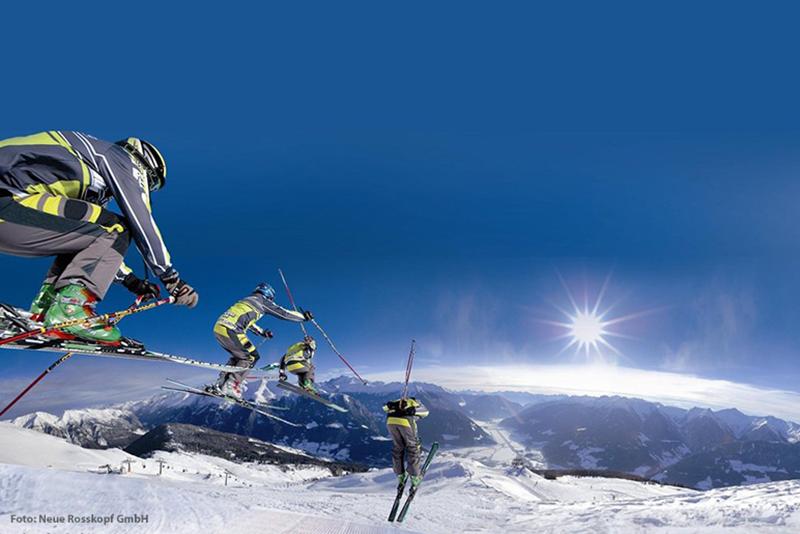 Skifahren im Skigebiet Rosskopf Sterzing
