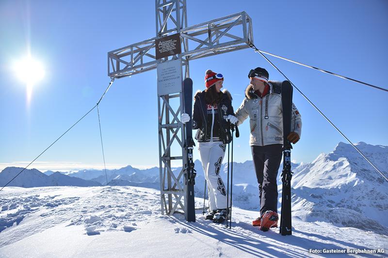 Gipfelkreuz des Kreuzkogels