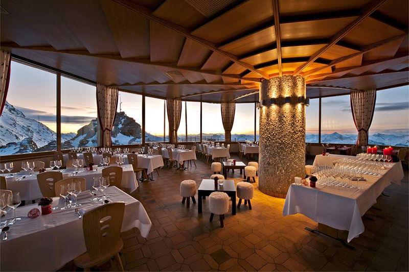 Panoramarestaurant 3303 in Corvatsch