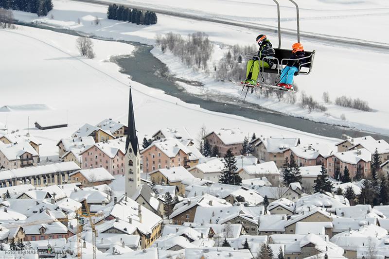 Skigebiet St. Moritz - Zuoz
