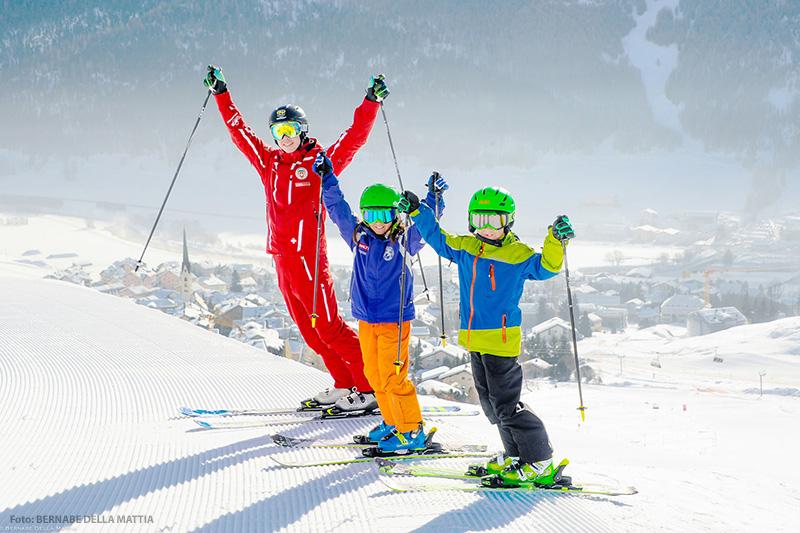 Familienurlaub im Skigebiet St. Moritz - Zuoz