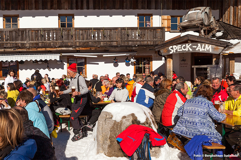 Berggasthof Speck-Alm auf 1.412 m
