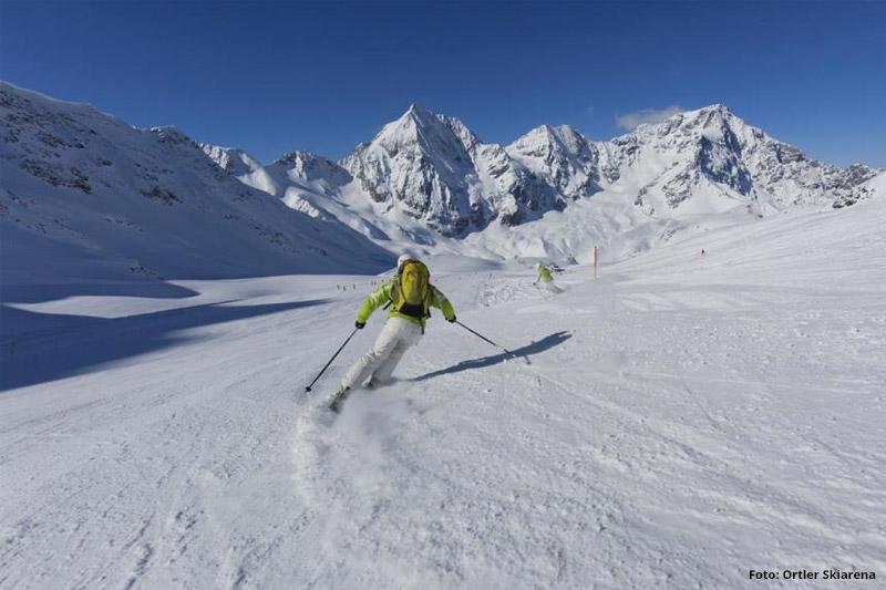 Skifahren rund um Sulden