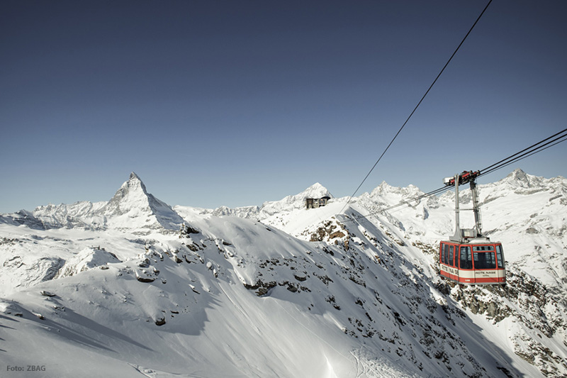 Gondelbahn Matterhorn Ski Paradise