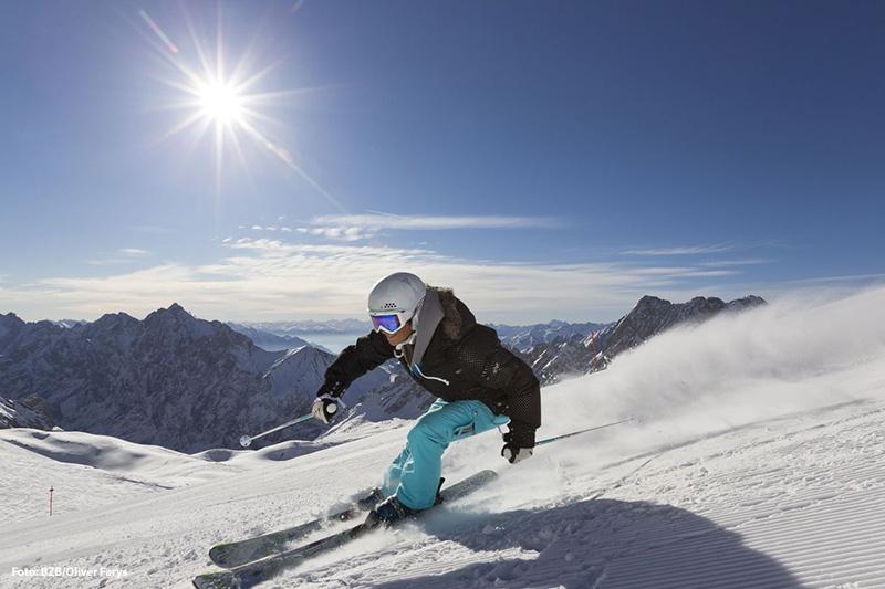 Ski Genuss auf der Zugspitze
