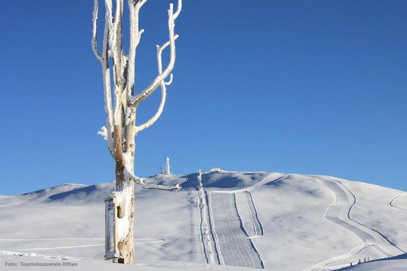 Skifahren in Ritten