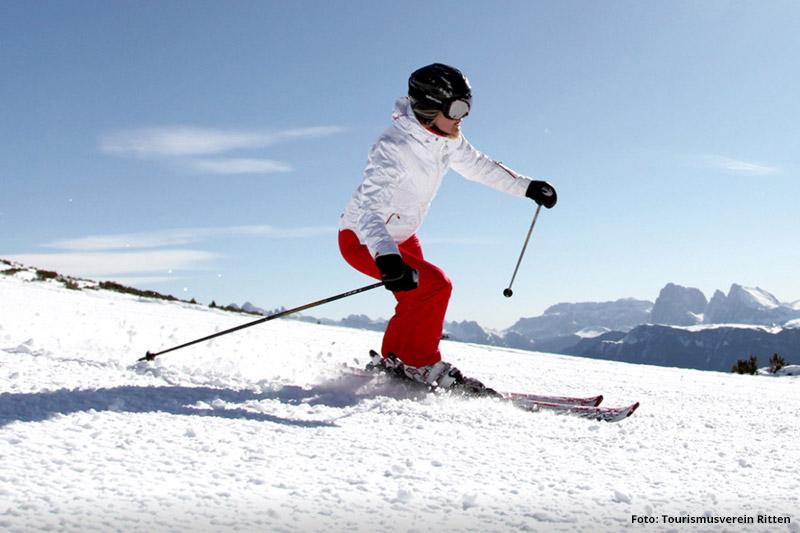 Skiurlaub am Rittner Horn