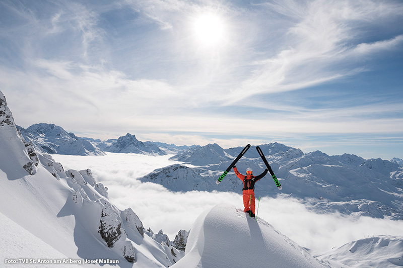 305 km Abfahrten und schneesicherheit bis ins Frühjahr