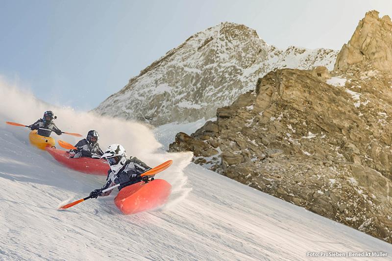St. Anton am Arlberg ist durch die ProSieben Wintergames sehr bekannt geworden