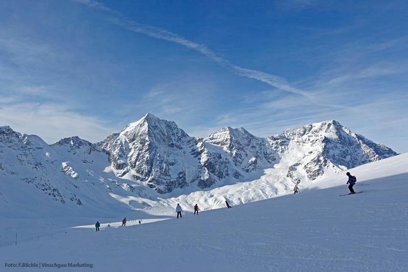 Skifahren in Vinschgau