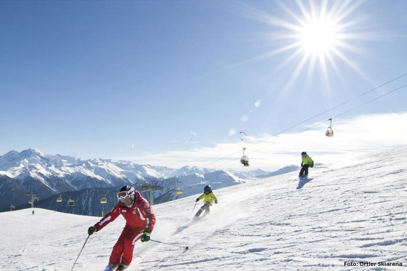 Skifahren im Familienskigebiet Watles