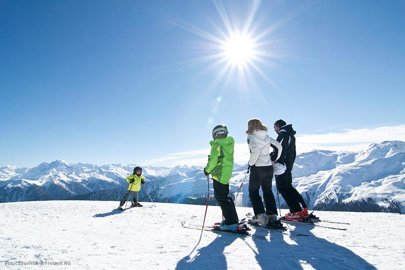 Skifahren im Skigebiet Watles