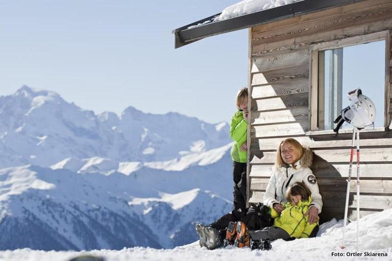 Familienskiurlaub in Watles