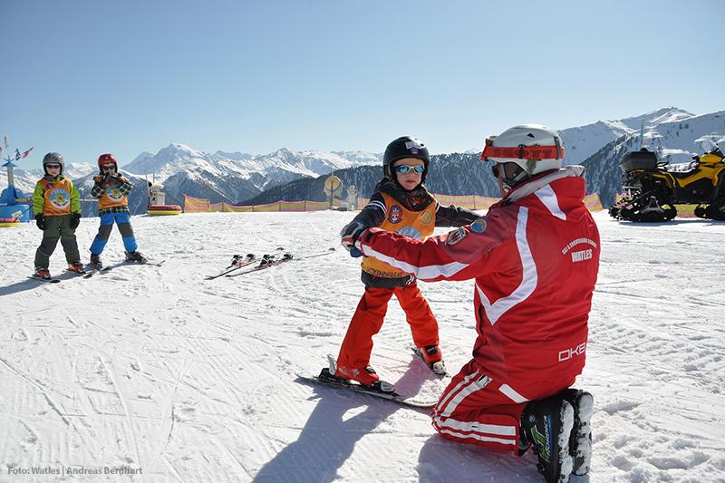 Skischule im Skigebiet Watles