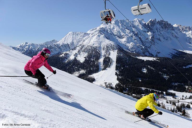 Im Skigebiet Karersee-beginnt die Skisaison bereits im November