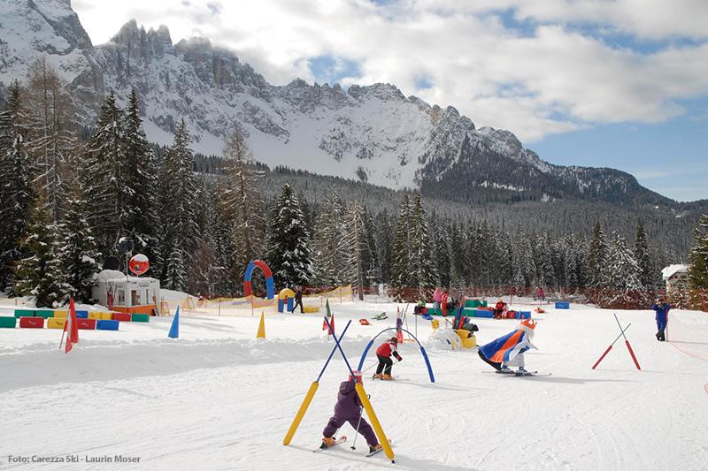 Skifahren mit König Laurin