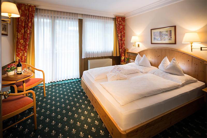 Doppelzimmer im Hotel Hanneshof