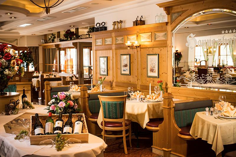 Restaurant im Hotel Hanneshof