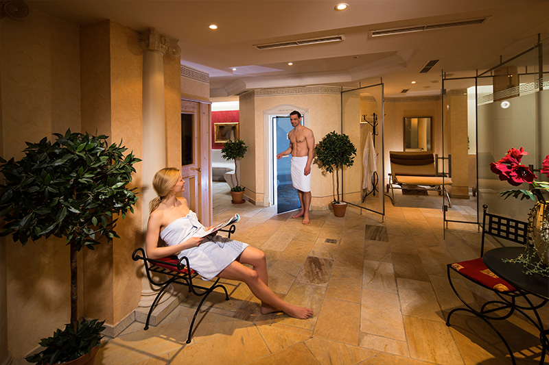 Wellnessbereich im Hotel Hanneshof