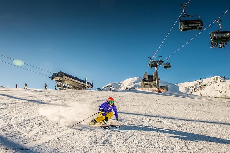Skifahren im Skigebiet Reiteralm