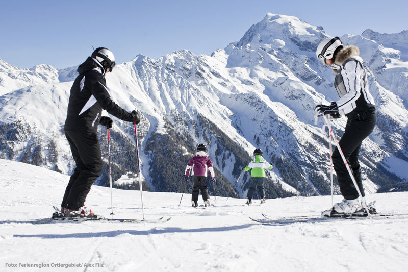 Skifahren in Trafoi am Ortler