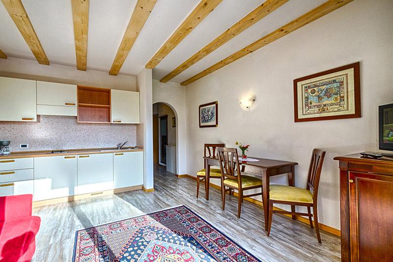 Appartement Wohnküche