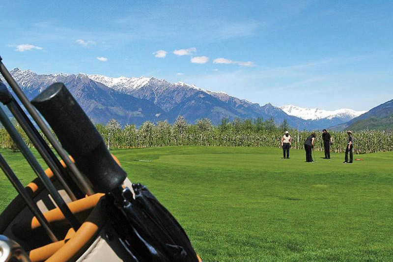 Golfplatz Lana im Meraner Land