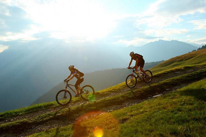 Radfahren und Mountainbiken rund um Nals