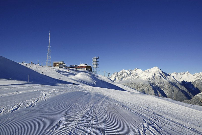 Bergstation des Skigebiets Venet