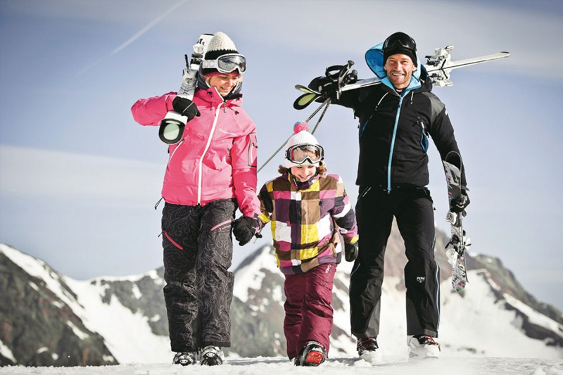 Familienskiurlaub in Neustift im Stubaital