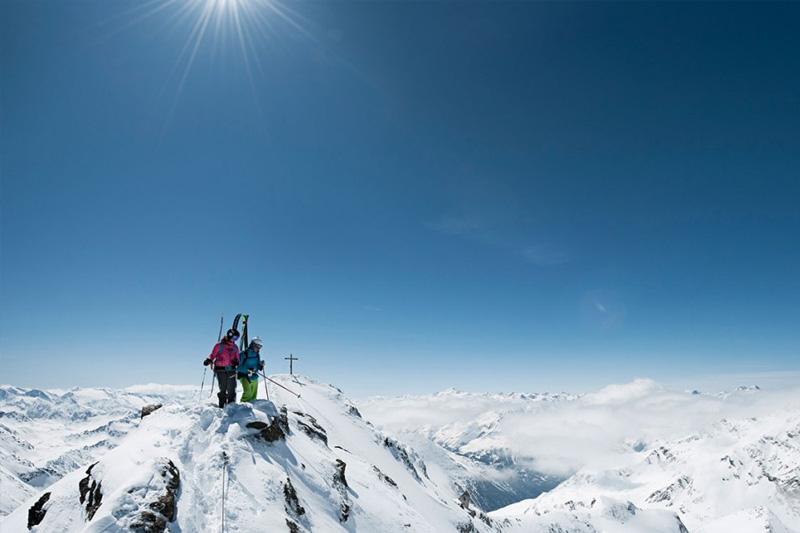 Gipfeltour am Stubaier Gletscher