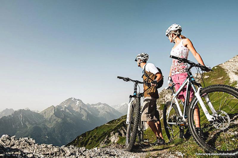 Radfahren rund um Neustift