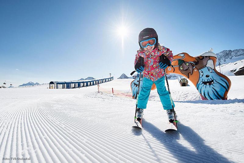 Skifahren in Neustift