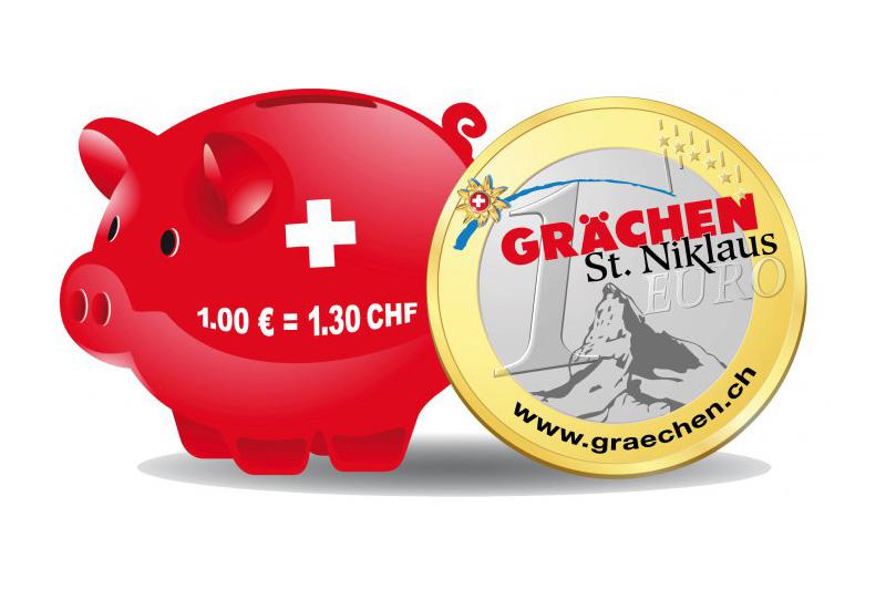 Einmalig & Exklusiv in der Schweiz - Gültigkeit Grächen Euro 5. - 25. Januar 2019 & 16. März - 22. April 2019