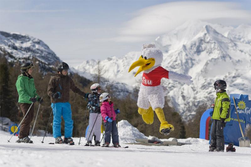 Sisu Familienpark im Skigebiet