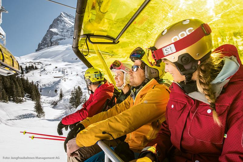 Skigebiet Grindelwald-First